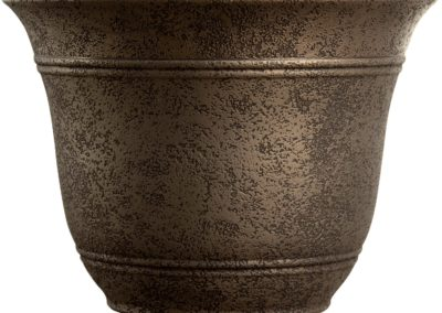 Nordic Bronze Planter, 13-Inch Width